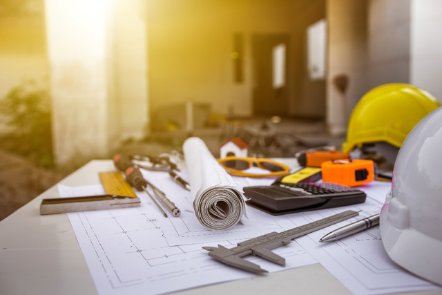 construction and architecture tools