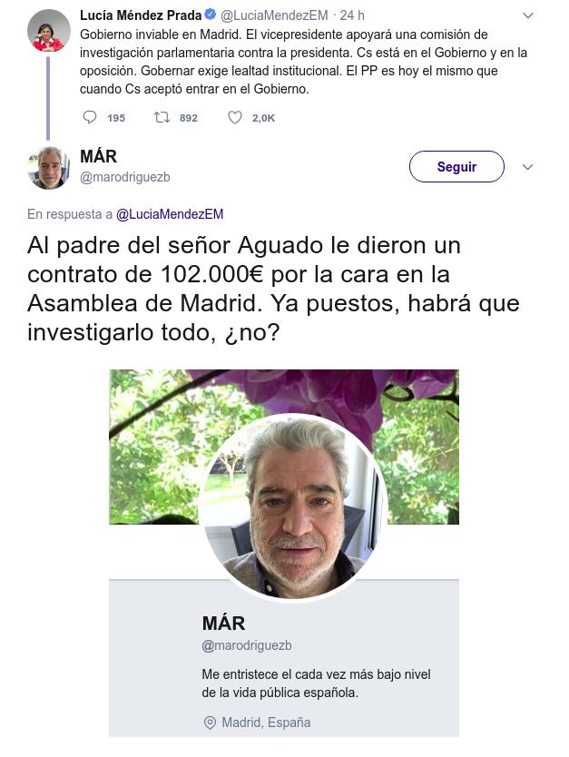 Ignacio Aguado todos sabemos que estás calvo Xjsd9311ferre