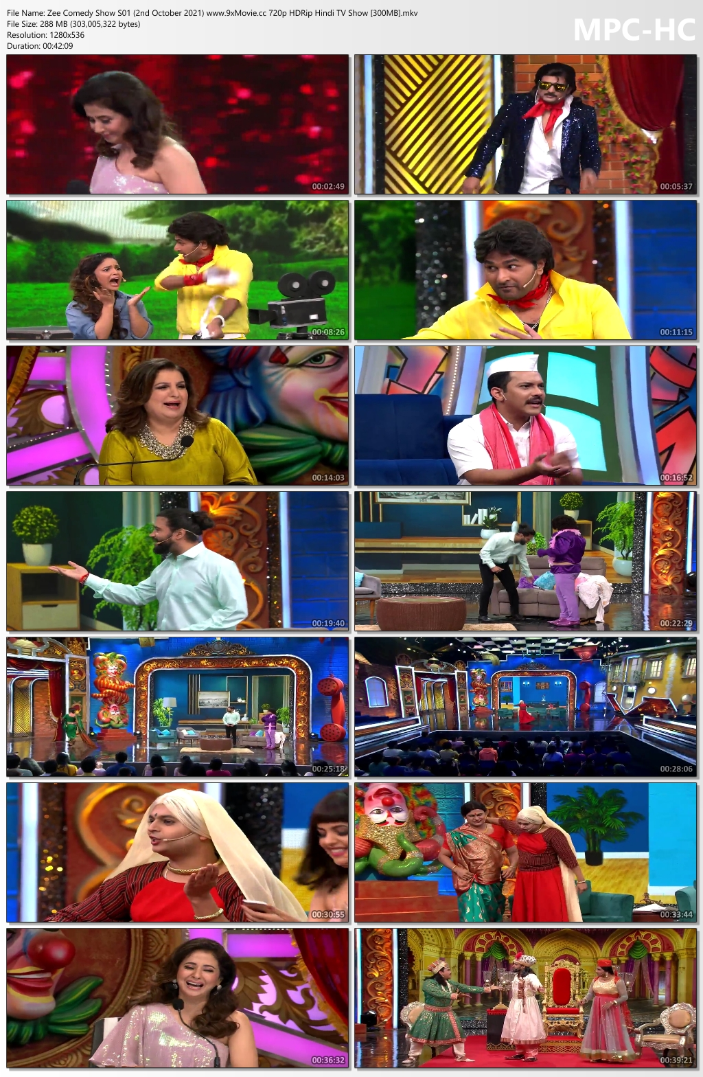 Zee-Comedy-Show-S01-2nd-October-2021-www-9x-Movie-cc-720p-HDRip-Hindi-TV-Show-300-MB-mkv