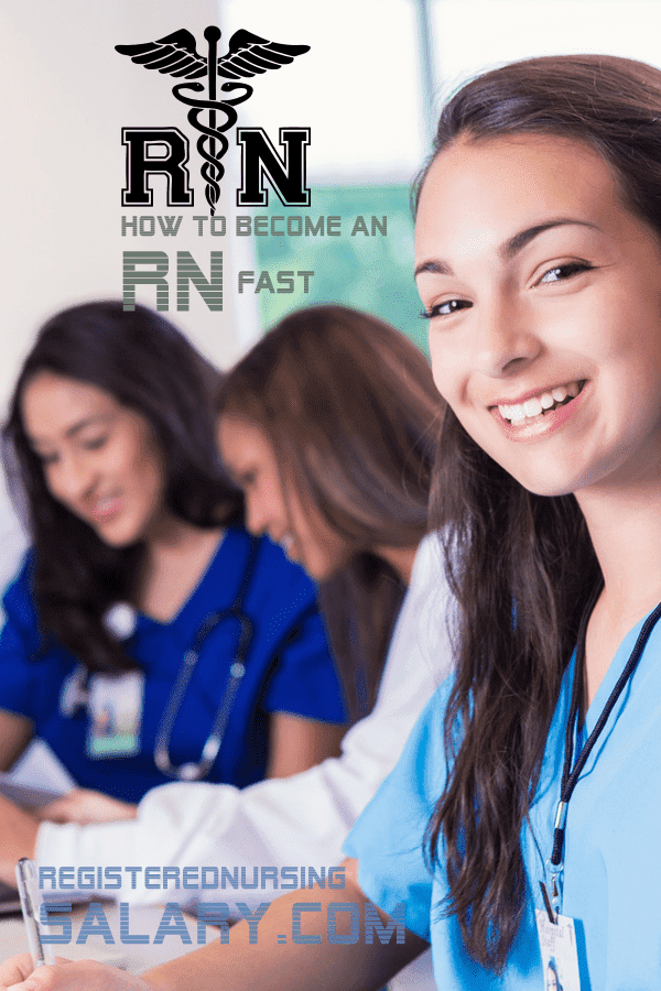how to become an rn fast