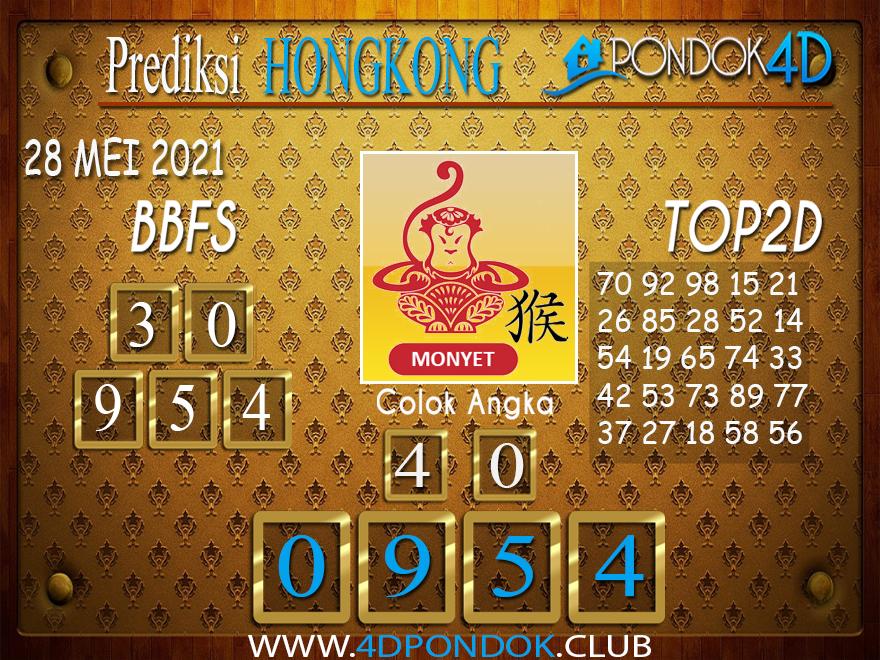 Prediksi Togel HONGKONG PONDOK4D 28 MEI 2021