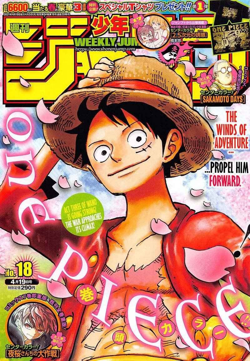One Piece Chapter 1009 - IMG 001
