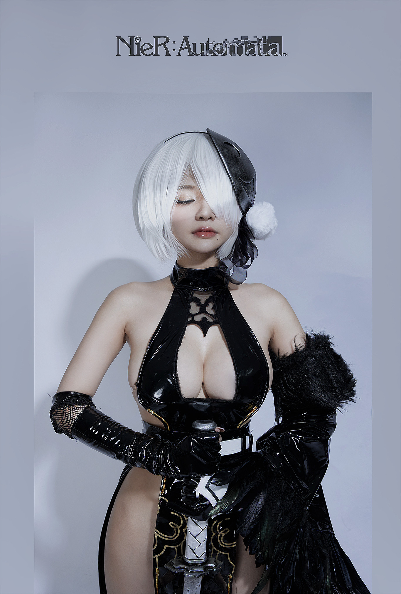 Azami - 2B Shinobi - Nier Automata Cosplay 01