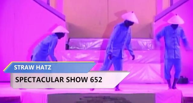 straw hatz spectacular show 652 santri ppws ngabar