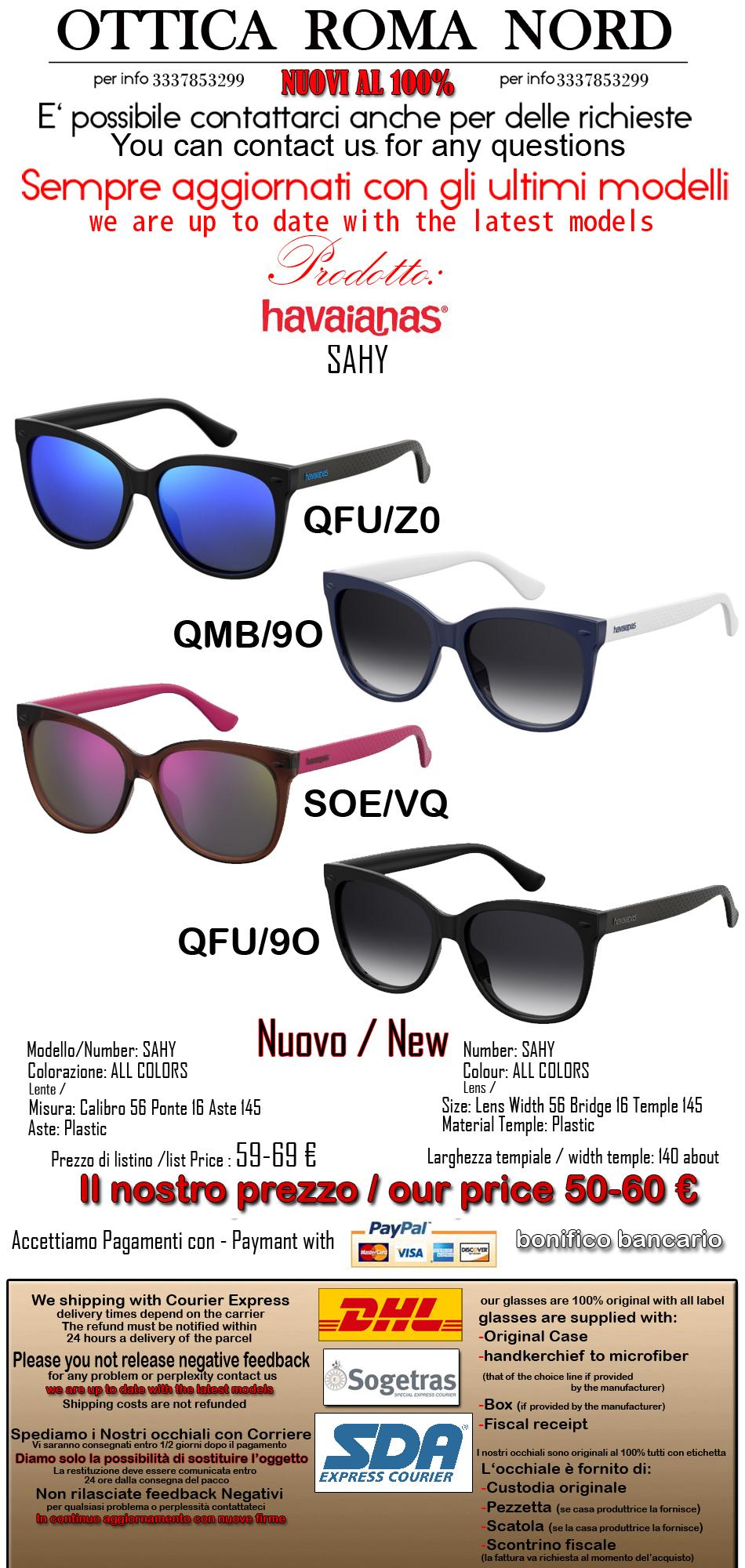 Havaianas occhiale da sole modello SAHY colore QGL