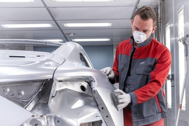 L'Audi e-tron GT entre en production : la production neutre en carbone commence à l'usine de Böllinger Höfe A209027-medium
