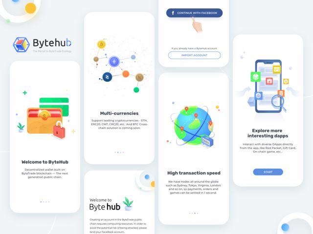 OPORTUNIDADE [Provado] ByteHuB - Nova carteira com Criptomoedas Gratis - Android - (Actualizado em Julho de 2019) Artboard-2x