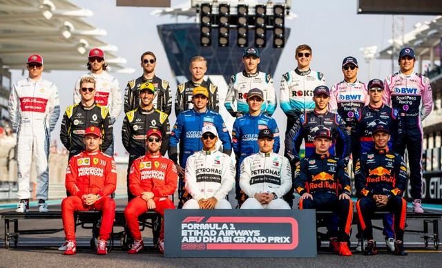 F1 GP d'Abu Dhabi 2019 : Lewis Hamilton termine la saison par une victoire Saison-2019-F1