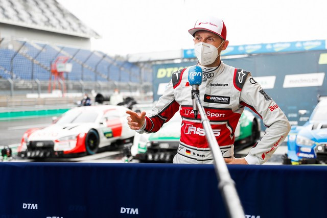 DTM – René Rast remporte le podium Audi au Lausitzring A204807-medium