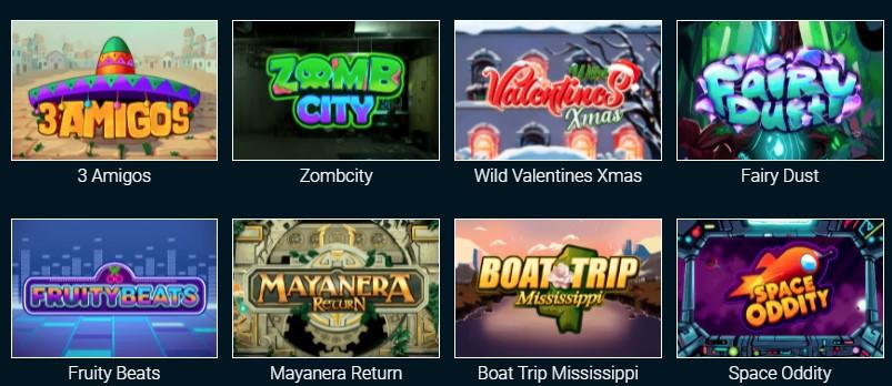 Игровые автоматы на сайте Гоуиксбет