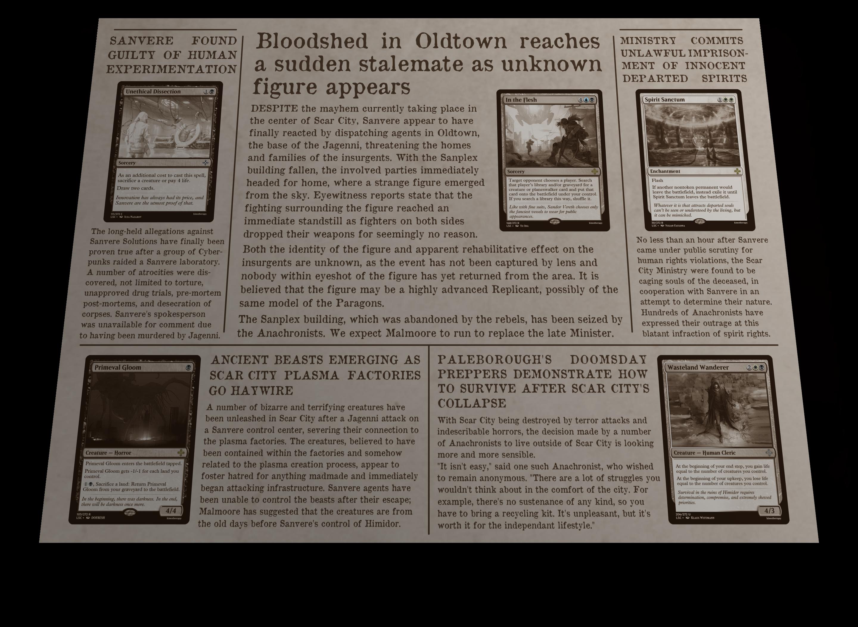 'The Paleborough Times' Page 2
