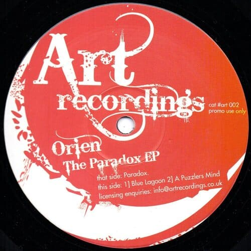 Download Orien - The Paradox EP mp3
