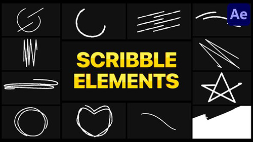 Scribble Elements 02 | After Effects 30256873 - After Effects Project & Script (Videohive)