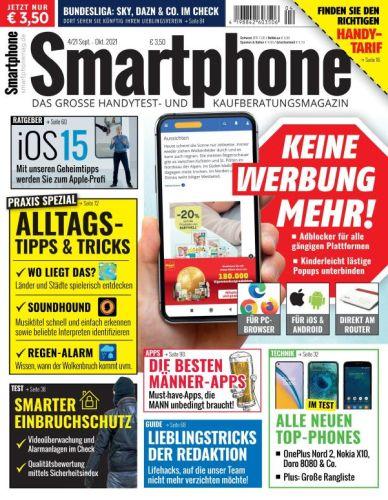 Cover: Smartphone Magazin September-Oktober 2021