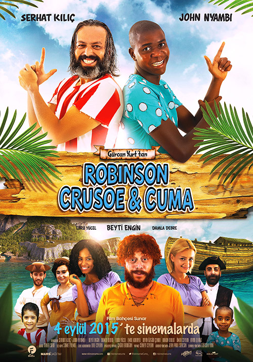 Robinson Crusoe ve Cuma | 2015 | Yerli Film | 720p | DVDRip | Upscale | Sansürsüz | 800 MB | Tek Link