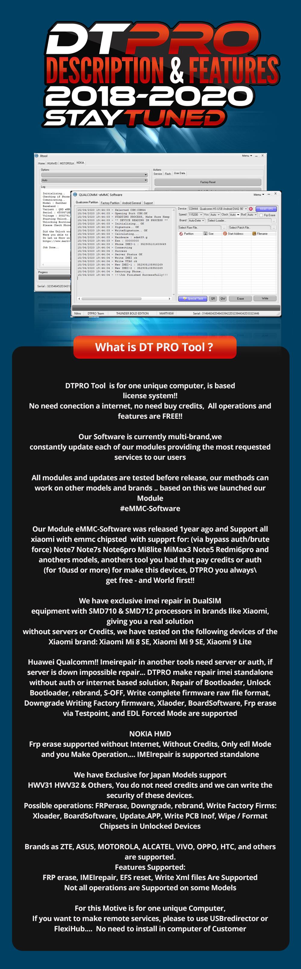 What is DTPRO? (Description and Features)