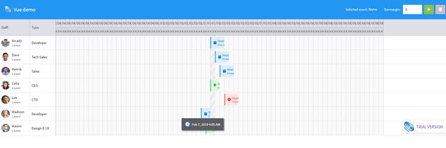 BUG] : Design issue in Vue js version - Bryntum Support Forums