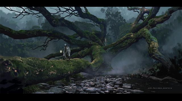 《黑神話悟空》首席遊戲圖形設計師楊奇在其Artstation上放出了一組早期概念圖,本作是由中國Game Science團隊以西遊題材所開發的單機ARPG買斷制遊戲 Image