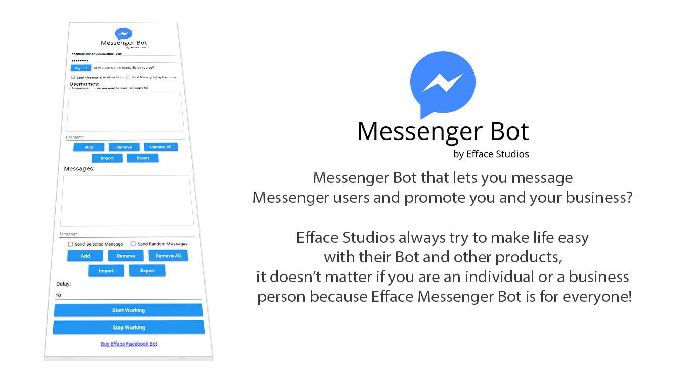 Efface Messenger Bot - 1