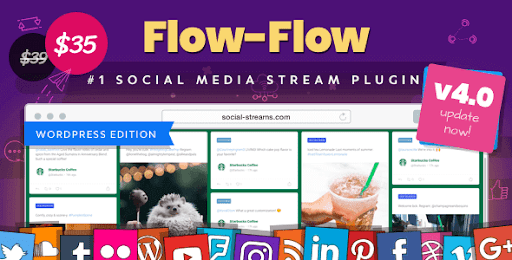 Flow-Flow WP Social Stream Plugin