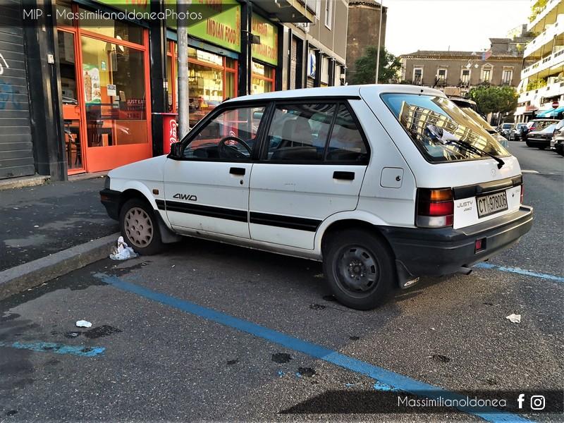 avvistamenti auto storiche - Pagina 4 Subaru-Justy-5p-1-2-GL-II-4-WD-68cv-91-CT978006