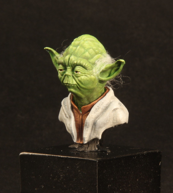 """Do. Or do not. There is no try"" (Buste Yoda) IMG-3396-1"