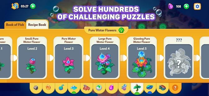 Sea Merge Fish Games in Aquarium & Ocean Puzzle 5