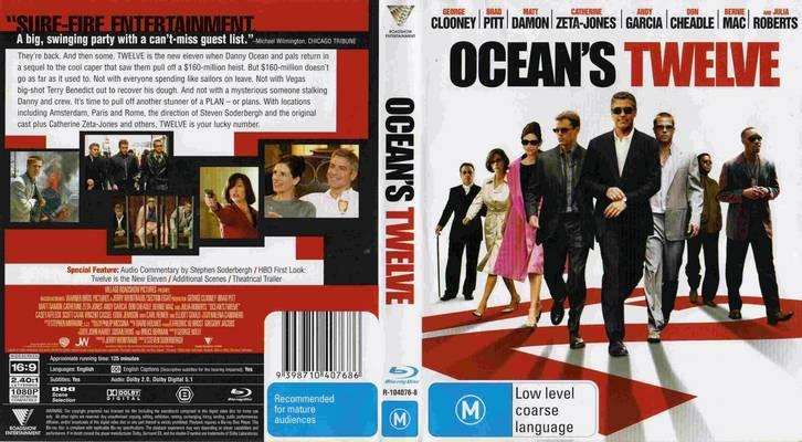 Ocean's (Tetralogy) 1080p x265 10Bits