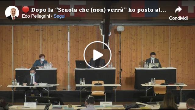 """VIDEO: domande a Bertoli dopo la """"Scuola che (non) verrà""""!"""