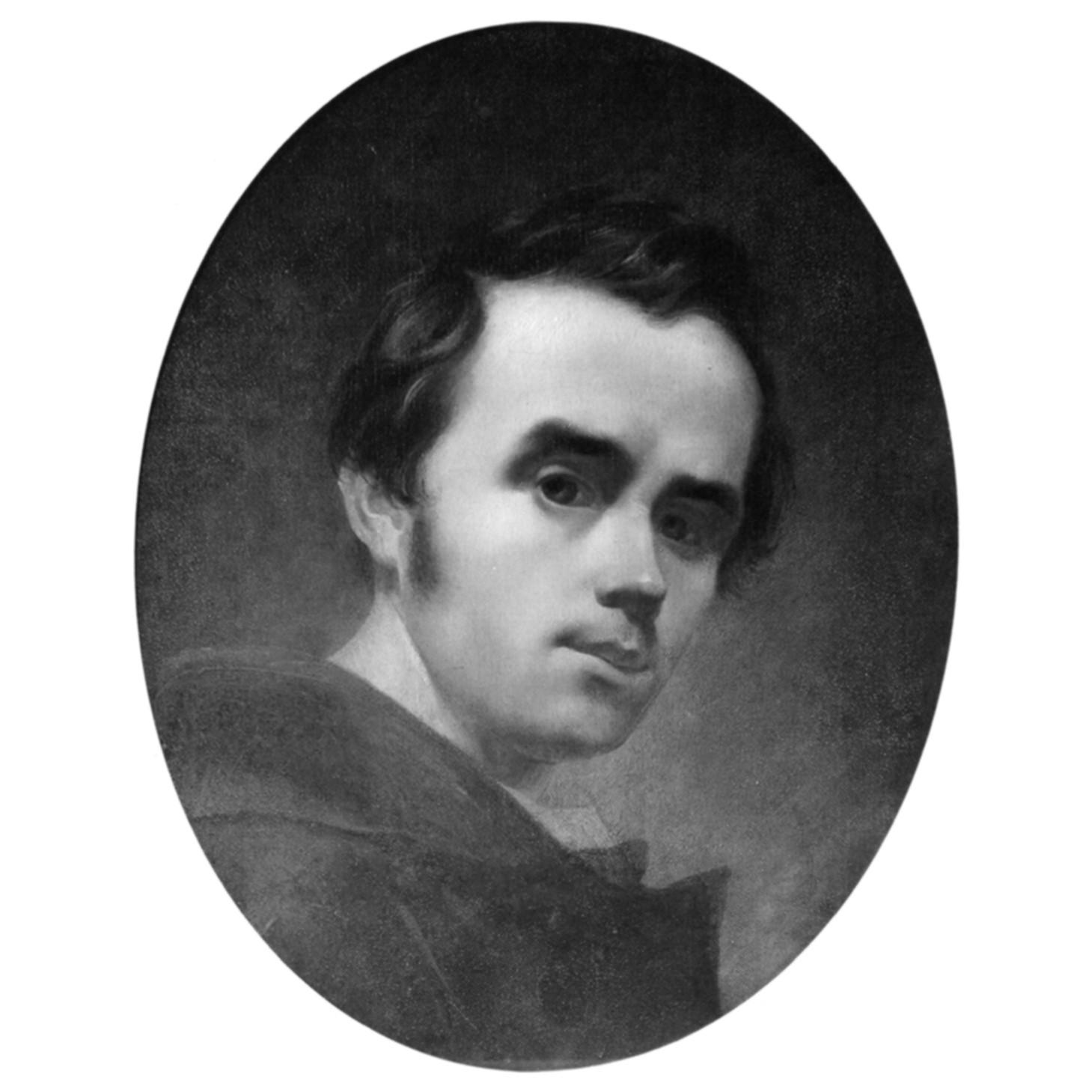 Картина «Автопортрет» (1840), офорт із серії «Живописна Україна» Т. Шевченко.