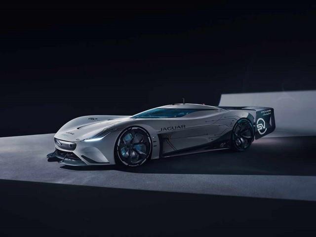 Jaguar Lève Le Voile Sur La Vision Gran Turismo SV : La Voiture De Course 100% Électrique Ultime Pour Les Passionnés De Course Automobile Jag-GTSV-Front34-1-161220