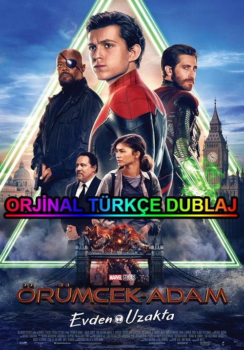 Örümcek Adam: Evden Uzakta | 2019 | BDRip | XviD | Türkçe Dublaj | 4K - 1080p - m720p - m1080p | BluRay | Dual | TR-EN | Tek Link