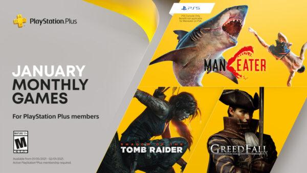 2021年1月的PlayStation Plus免費遊戲 PS-Plus-Jan-2021-12-30-20-600x338