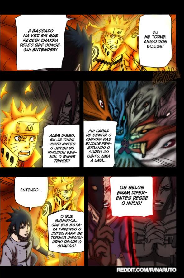 Quanto de chakra é necessário para escapar de uma outra dimensão apenas com Kuchiyose no Jutsu? Aa
