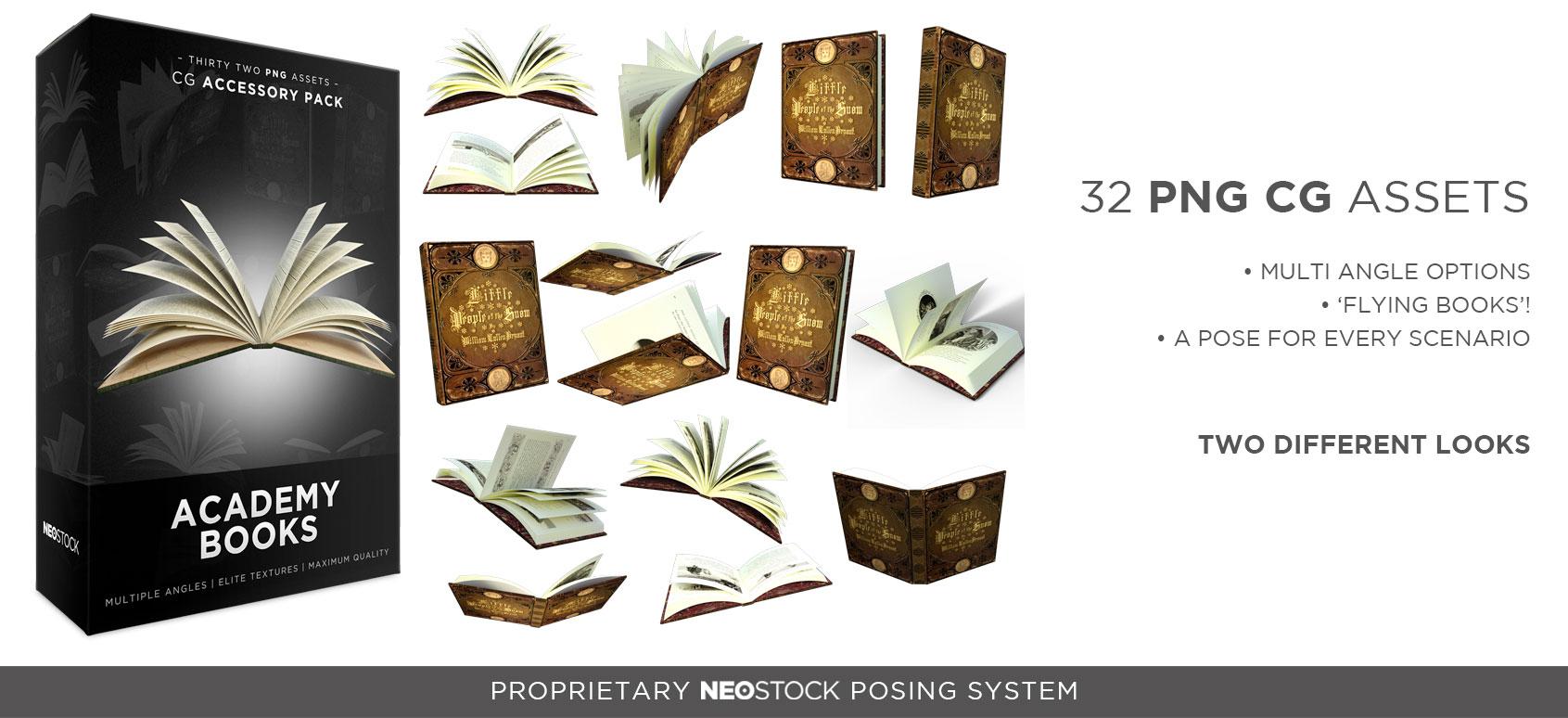 cg academy books product splash