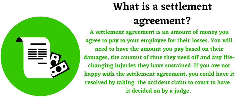 settlement agreement information