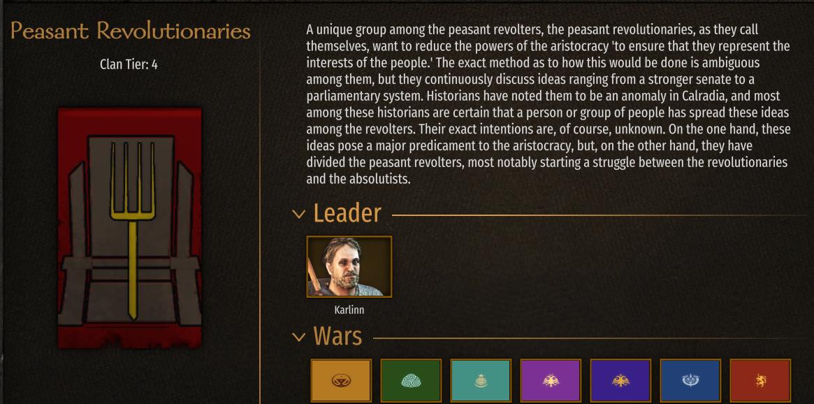 Calradia at War (Custom Spawns) / Кальрадская война