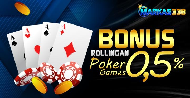 Banner Rollingan Poker