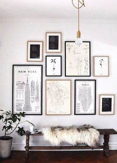 Galeri Dinding Hitam Putih