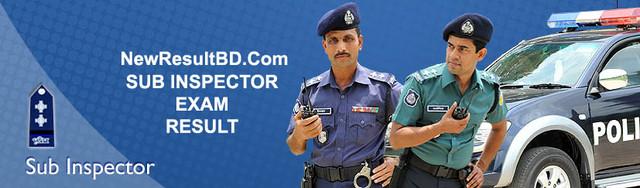 Sub Inspector (SI), Bangladesh Police