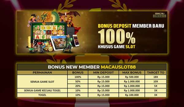Bonus Slot 100