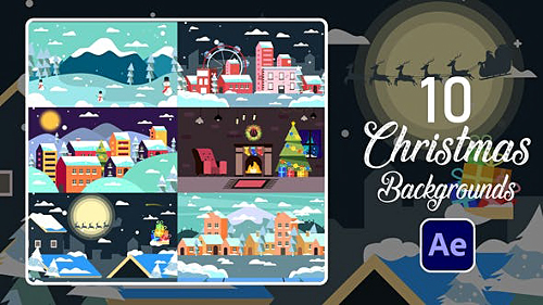 Christmas Backgrounds | After Effects 29504052 - Project for After Effects (Videohive)