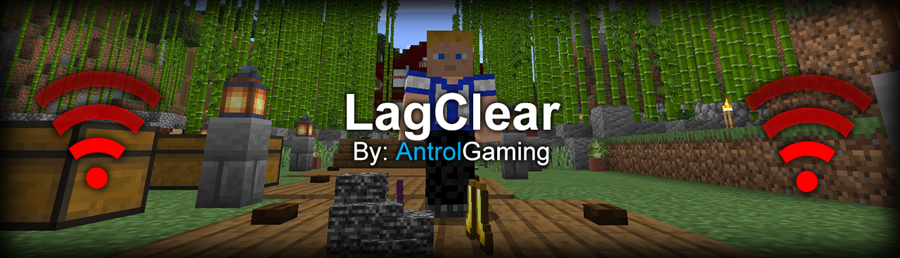 LagClear By: AG Minecraft Data Pack
