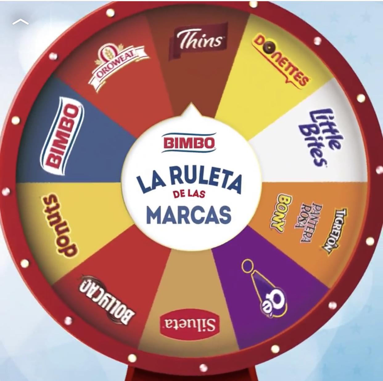 Compra 2 productos de las marcas de la ruleta, sube tu ticket y ¡gana cientos de premios!
