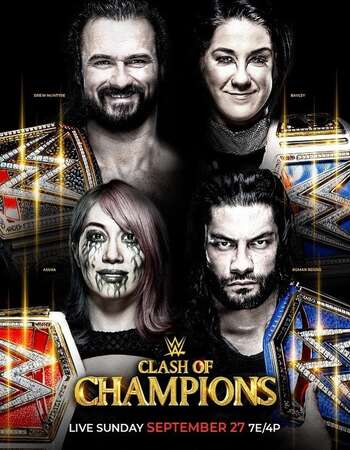 WWE Clash Of Champions 27th September 2020 Download
