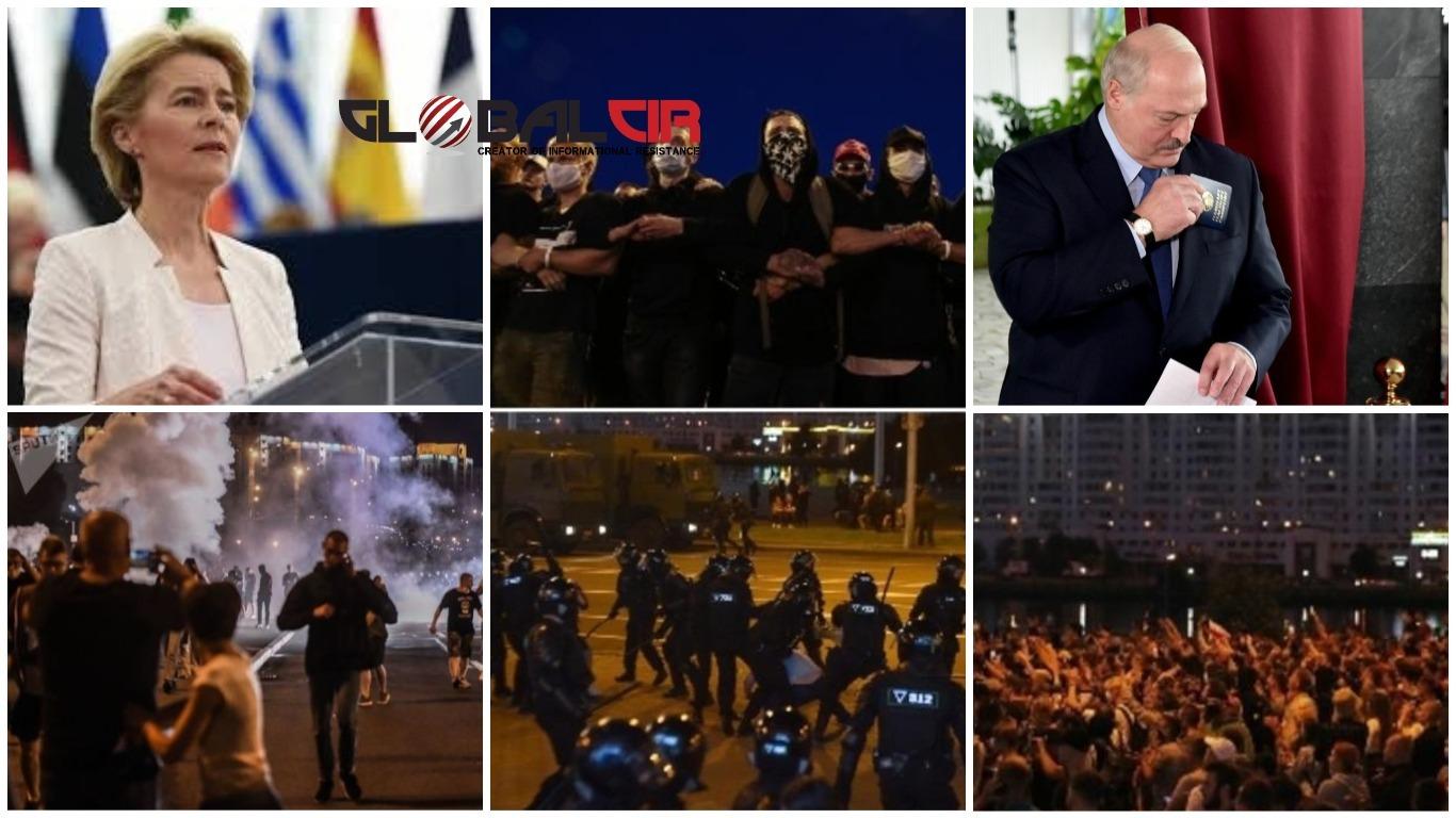 STIGLE REAKCIJE BRISELA I BIJELE KUĆE! Ima mrtvih u sukobima policije i demonstranata u Bjelorusiji, građani blokirali specijalce, čuju se eksplozije