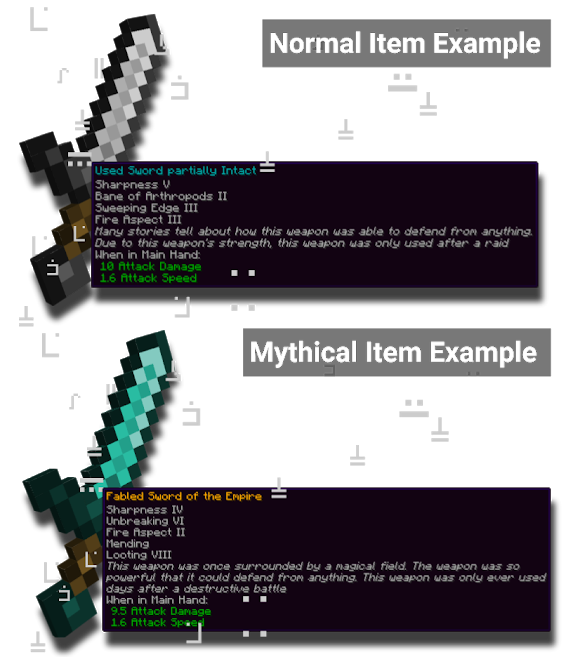 Weapon Examples