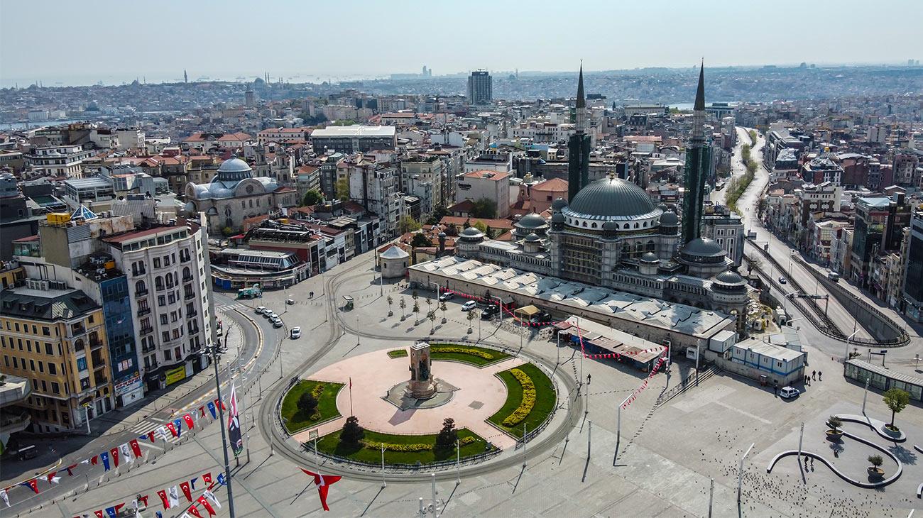 Aerial-view-of-Beyoglu-Taksim