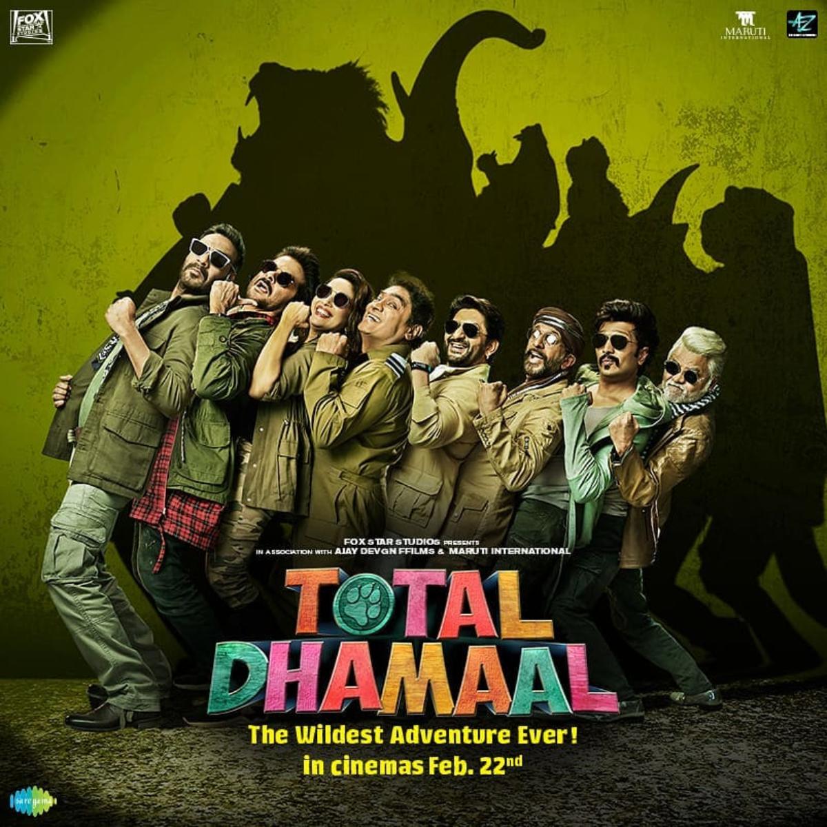 Total Dhamaal (2019) New Hindi Movie 720p
