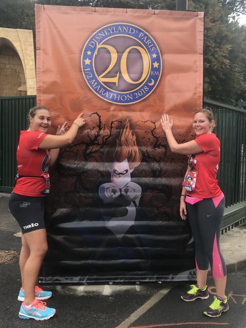Run Disney 2018 20km Marker